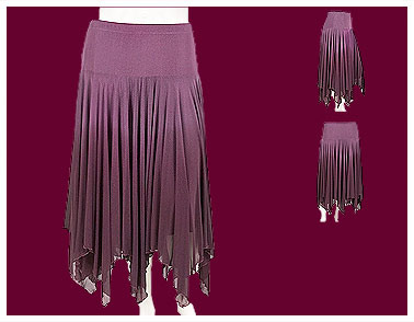 Gypsy Panneled Skirt