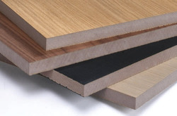 Brown Prelaminated  MDF Board