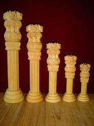Wooden Ashok Pillar