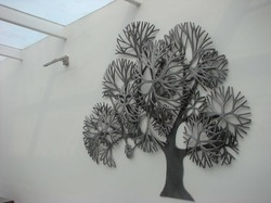 Large Metal Tree Wall Decor