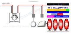 LED Panel Lights 4 Watts To 20 Watts Dimmer With Mobile App