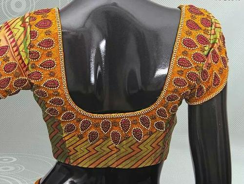 Color Designer clothes & pink color designer blouse retailer from chennai