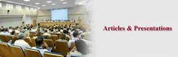Articles & Presentations