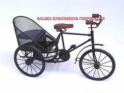 Rickshaw Fancy Showpiece