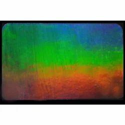 Rainbow laser Transparent Hologram Overlay