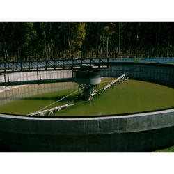Clarifier With Mechanical Scrapers