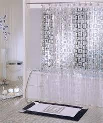 Awesome Embossed Shower Curtain