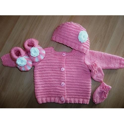 2512bd9dc Hand Knitted Baby Set, Infant & Toddlers Clothing | Totu's Creations ...