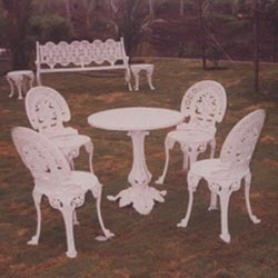 Wrought Iron Garden Furniture Manik Casting Works Manufacturer