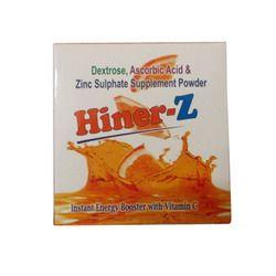 Zinc Sulphate Dextrose Vitamin C Energy Powder