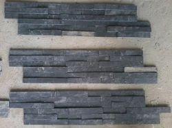 Himachal Black Quartzite Wall Panels