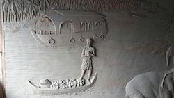 Wall Relief Sculpture