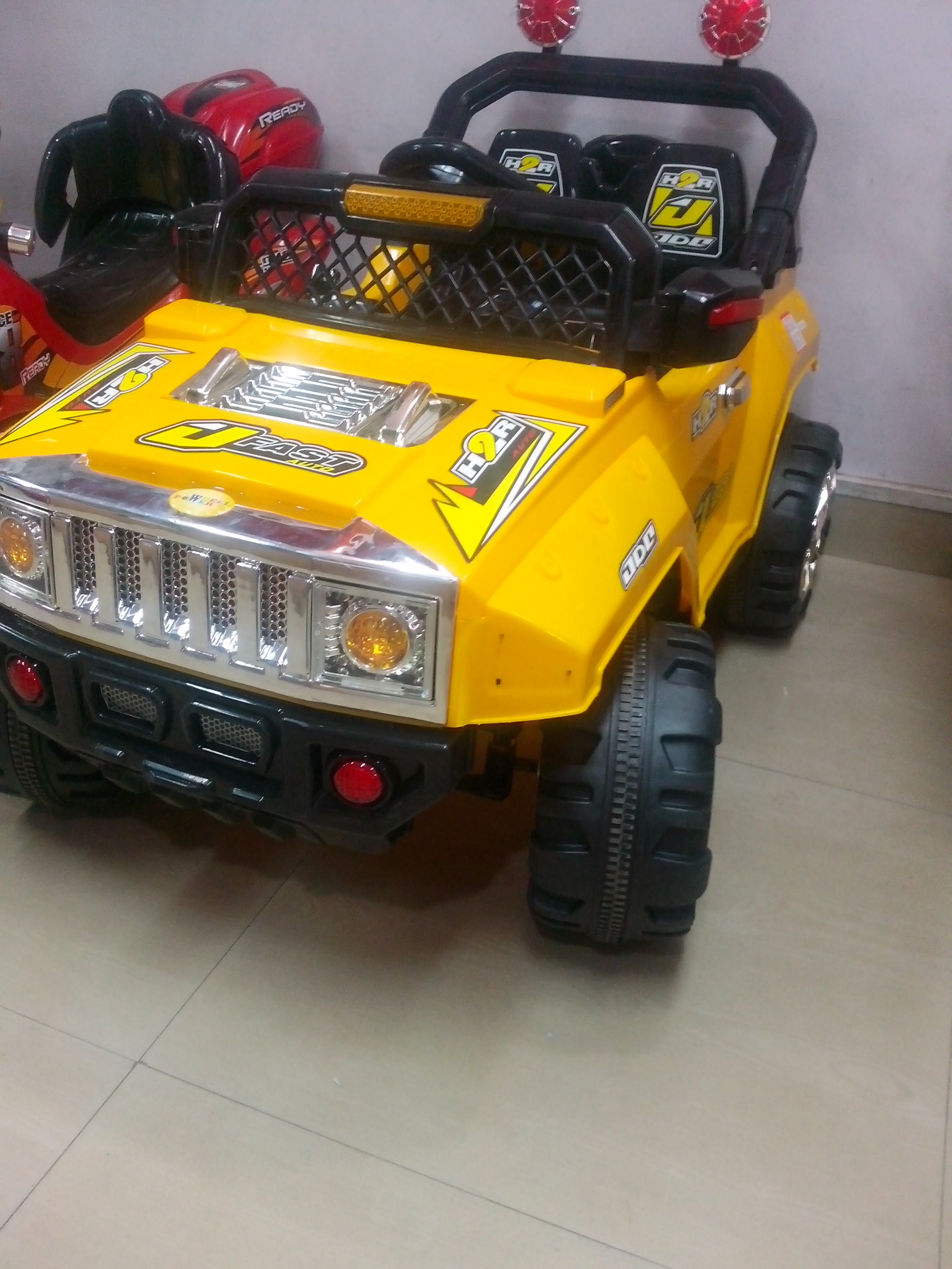hummer suv car ride on for kids 2 seater