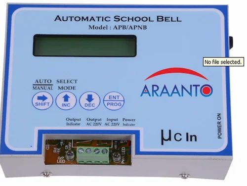 Automatic School Bell Araanto International Manufacturer In