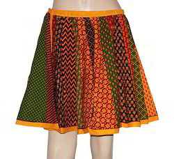 Short Cotton Skirt
