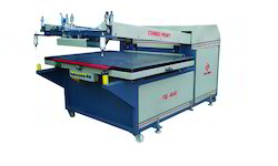 Combo Chemshall Flat Screen Printing Machine