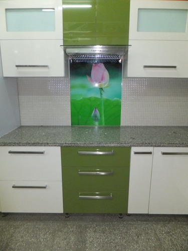 Acrylic kitchen cabinets at rs 200000 piece wooden for Acrylic kitchen cabinets india