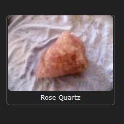 Rose Quartz Slice