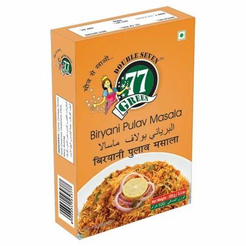 77Green Biryani Pulav Masala 50g