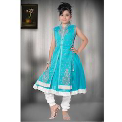 Blue Churidar Girls Suits