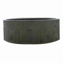 Steel Silver Motorcycle Brake Drum Cast Iron Ring