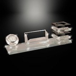 Crystal Desktop Pen Stand
