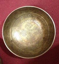 Tibetan Singing Bowl Carving