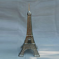 Metal Eiffel Tower Miniature