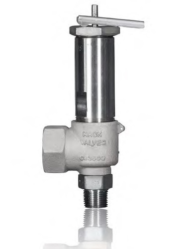 Cryogenic Stainless Steel Body Relief Valve with Lever