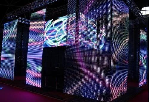 P25 Led Strip Curtain Screen At Rs 11000 Sq Mtr Led