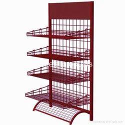 Mild Steel Display Stand Rack