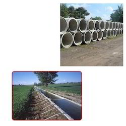 Reinforced Concrete Pipes for Irrigation