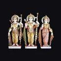 God Ram Darbar Marble Statue