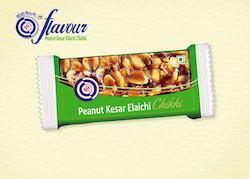 Peanut Kesar Elaichi Chikki