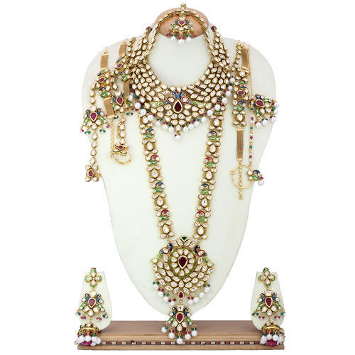 Kundan Bridal Sets Bridal Jewellery Sets Exporter From