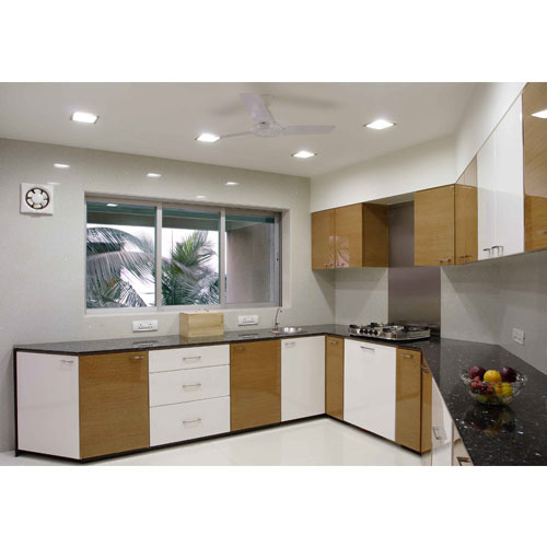 Elegant Laminate Kitchen Cabinet