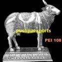 Silver Cow Statue