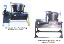 Milk Mawa & Soan Papdi Making Machine