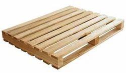 Silver Wood Round Hardwood Pallets