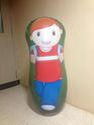 R S Plastic Multi Color Inflatable Bop Bag Hit Me Toy