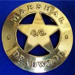 Marshal Dead Wood Badge
