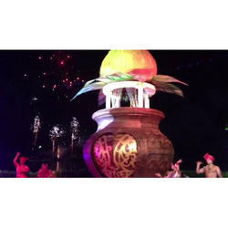Lotus Theme Stage Decoration Services