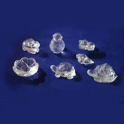 Crystal Pooja Items