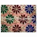 Net Embroidery Silk Fabric