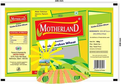 Motherland Samba Broken Wheat - View Specifications & Details of