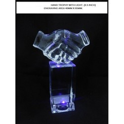 Hand Trophy with Lights CM094