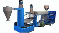 Plastic Recycling Machine with Die Face Cutter