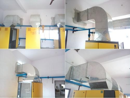 Compressor Exhausts Ducting Industrial Air System