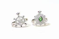 DSA Silver Tortoise Rings