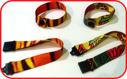 Lucky Plastics Printed Wrist Bands